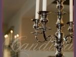 kandelabr z 5 świecami