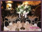 dekoracja stołów, kandelabry z 5 świecami