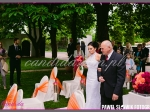 dekoracja sali weselnej ślub w plenerze Villa Julianna