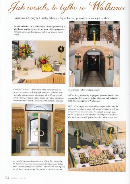 propozycje dekoracji ślubnych na Wielkanoc