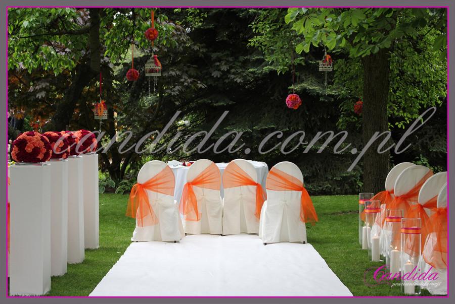 ślub w plenerze i wesele Villa Park Julianna