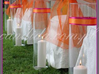 ślub w plenerze dekoracje kwiatowe ślubu w plenerze w Villa Park Julianna 12