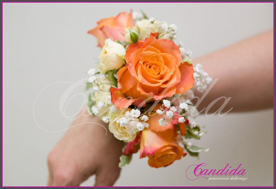 dekoracje ślubne galerie bransolety kwiatowe link do galerii