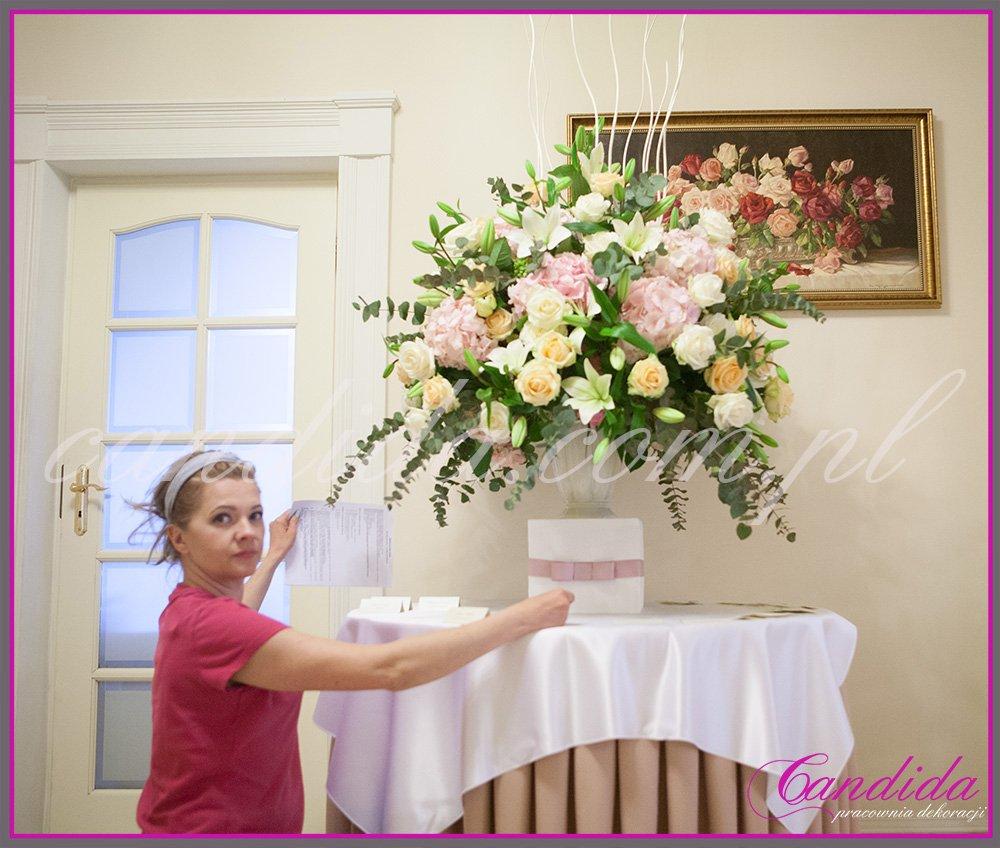 Candida pracownia dekoracji Grażyna Góska tel. +48504055969 candida@candida.com.pl