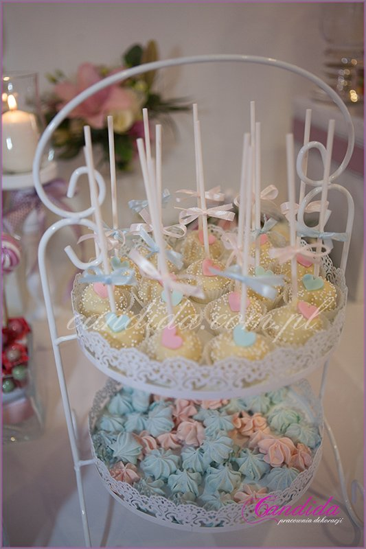 dekoracje weselne hotel Brant, Candy Bar