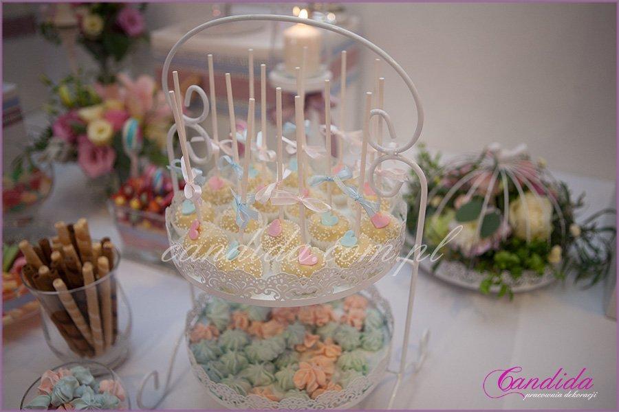 hotel Brant dekoracje weselne, candy bar, kompozycje kwiatowe