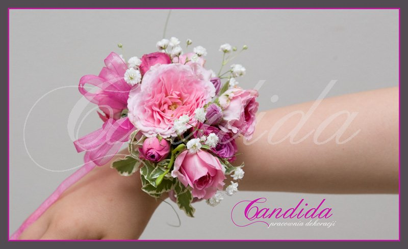 bransoleta kwiatowa